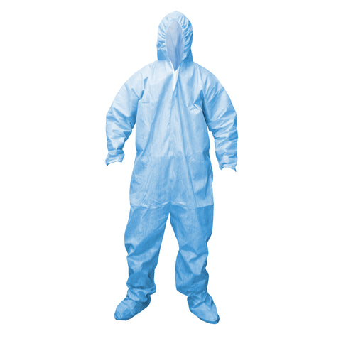 DEFENDER FR™  Disposable Coveralls with Hood & Boots