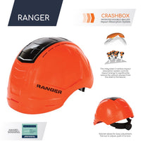 Load image into Gallery viewer, Rockman Ranger Safety Hard Hat with Crash Box Technology