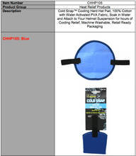 Load image into Gallery viewer, COLDSNAP™ COOLING HARD HAT PAD (PVA FABRIC)