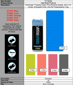 COLDSNAP™ COOLING TOWEL