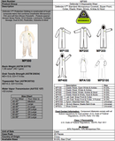 Defender II™ Standard Microporous Coverall with Hood & Boots