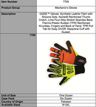 Load image into Gallery viewer, OGRE Lime And Orange Work Gloves