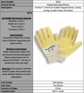 Standard Support Latex Gloves