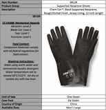 Rough Neoprene Supported Latex Gloves