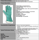Premium Nitrile Green 18-Mil Gloves