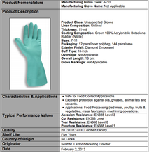 Load image into Gallery viewer, Premium 11-Mil Green Nitrile Gloves