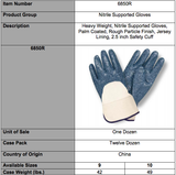 Standard Nitrile Palm Coated Jersey Lining Gloves