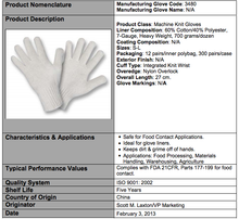 Load image into Gallery viewer, Natural Heavy Weight 7-Gauge Gloves