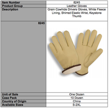 Load image into Gallery viewer, Premium Grain Cowhide Driver Gloves