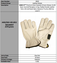 Load image into Gallery viewer, OGRE GT Premium Goatskin Padded Double Palm Gloves