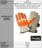 OGRE GT Premium Goatskin Thinsulate Gloves