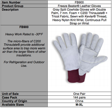 Load image into Gallery viewer, Premium Freeze Beater Heavy-Duty Deerskin Gloves