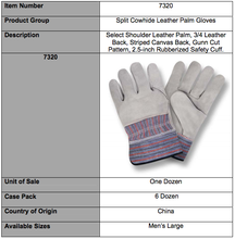 Load image into Gallery viewer, Premium Shoulder 3/4 Leather Back Gloves