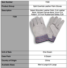 Load image into Gallery viewer, Premium Shoulder Full Leather 2.5-In Cuff Gloves