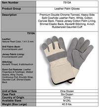 Load image into Gallery viewer, Premium Side Gauntlet Cuff Gray & White Gloves