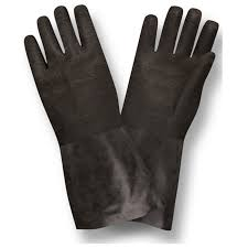 Neoprene Supported Jersey Lining Latex Gloves