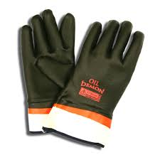 Oil Demon Sandy PVC Gloves