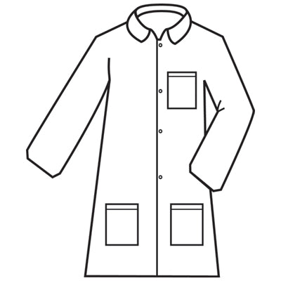 Defender II™ Standard Microporous Lab Coat