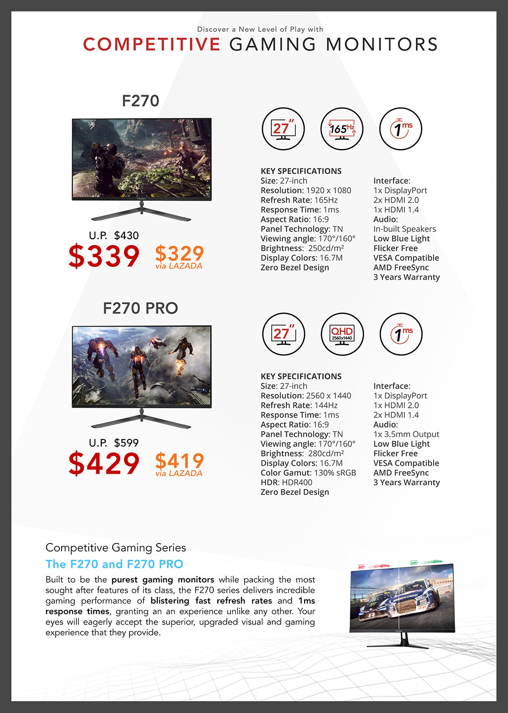 PC Show 2019 Brochure Page 4 (Competitive Gaming)
