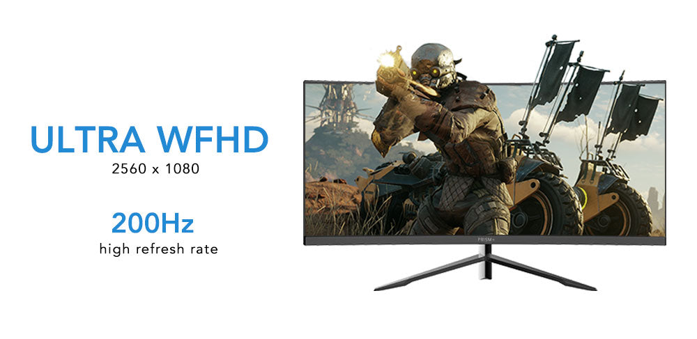 X300 Ultrawide 200Hz Gaming Monitor