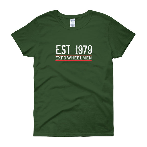 EXPO EST 1979 Women's short sleeve t-shirt