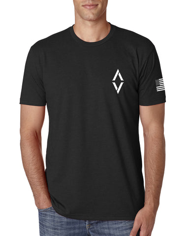 Athletes of Valor T-Shirt - Black