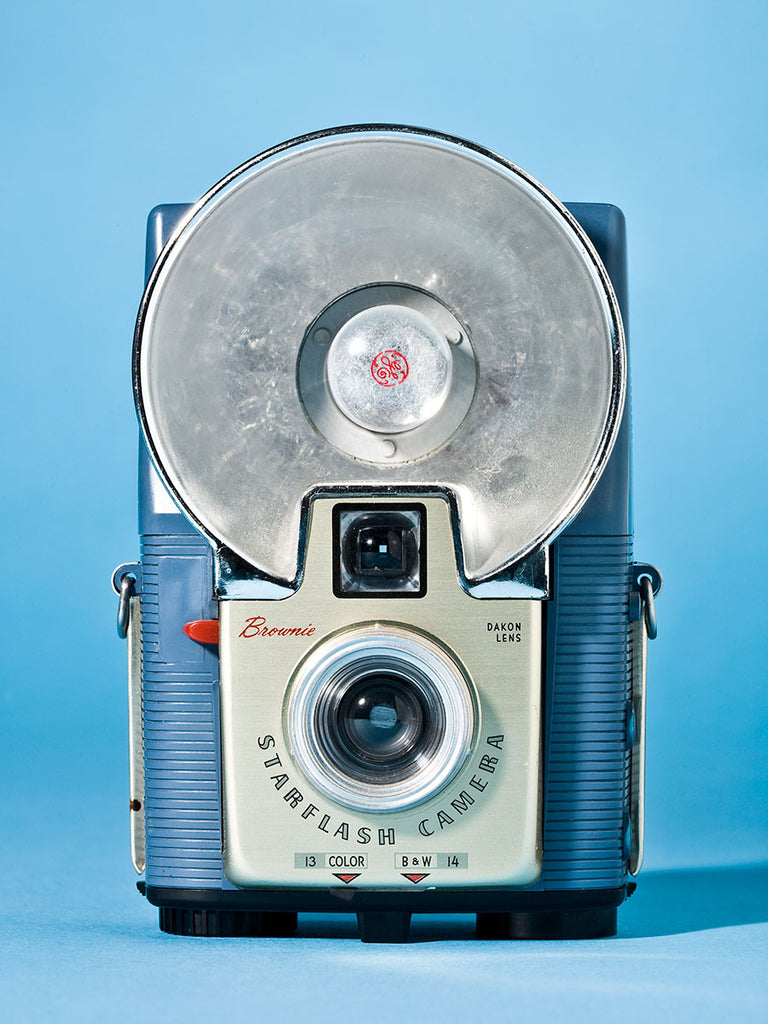 Blue Brownie Camera