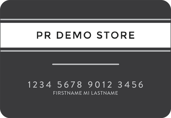 Demostore Credit Card