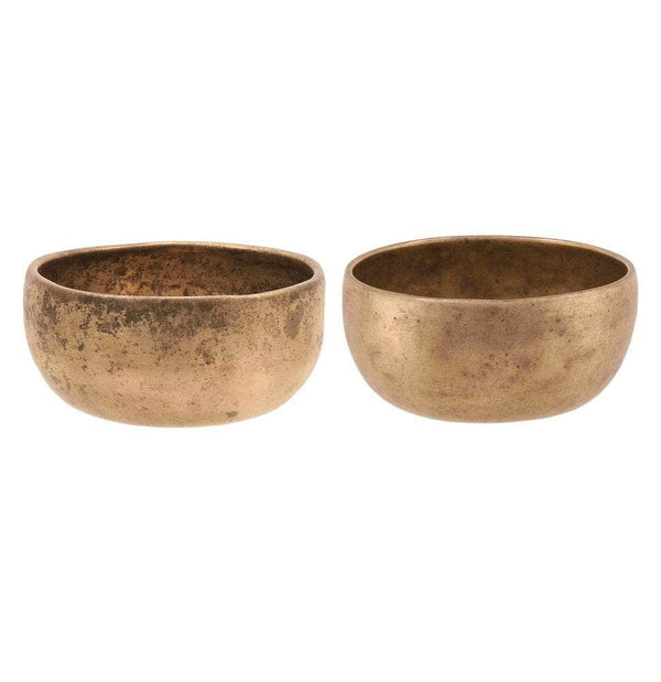 Binaural set of small cups TcC#43 / TcC#44 SINGING BOWL Bells of Bliss