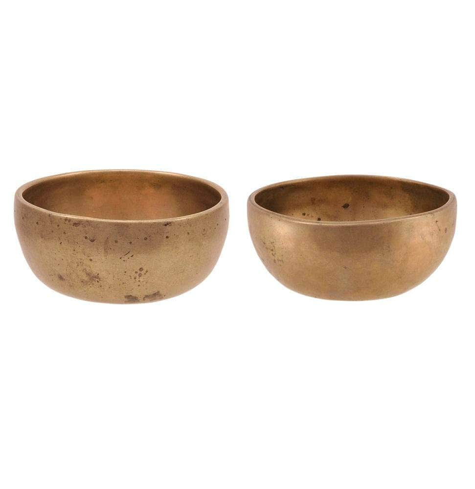 Binaural set of small cups TcD#72 / TcD#78 SINGING BOWL Bells of Bliss
