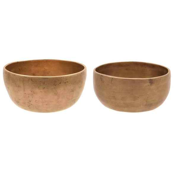 Binaural set of small cups TcF#134 / TcF#140 SINGING BOWL Bells of Bliss