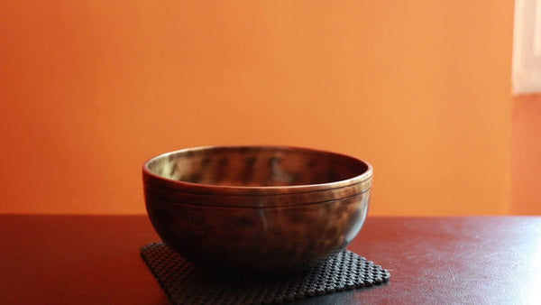Contemporary Full Moon singing bowl FMD#19
