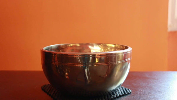Contemporary Full Moon singing bowl FMF12