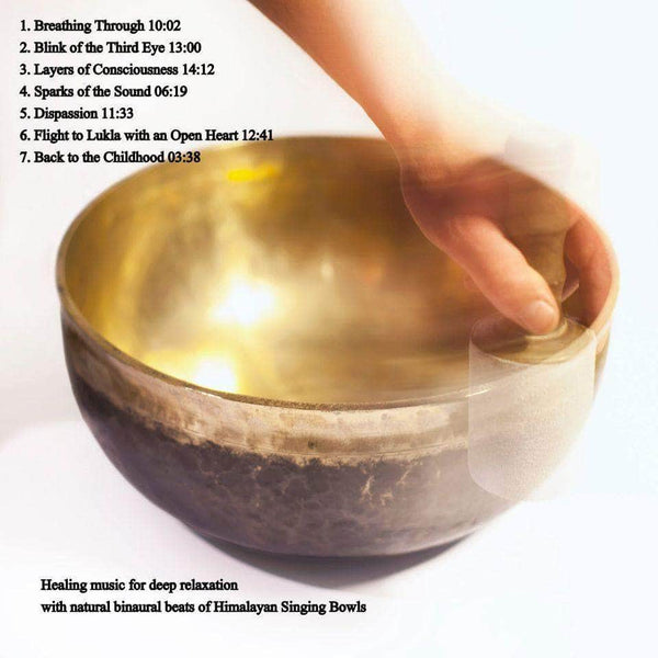 Himalayan singing bowls sound meditation CD CD Bells of Bliss