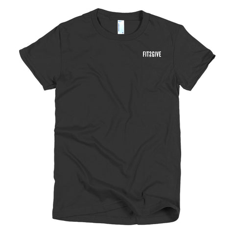 Fit2Give: Original Women's Workout Tee
