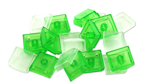 X-keys Key Caps, Green