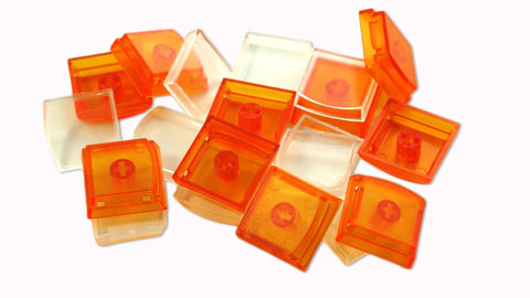 X-keys Key Caps, Orange