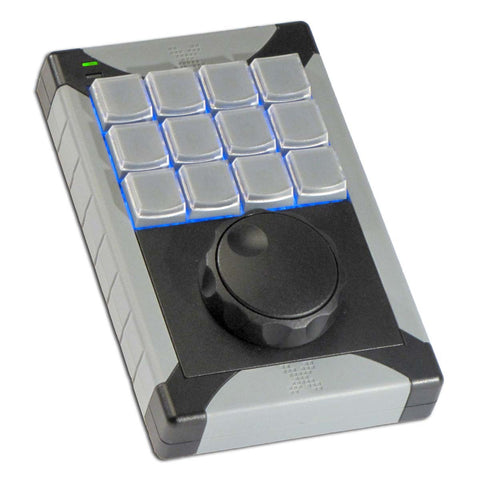 X-keys 12 Key Keypad and Jog Shuttle
