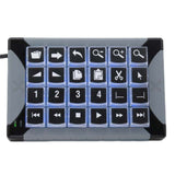 X-keys 24 Key Programmable Keypad KVM