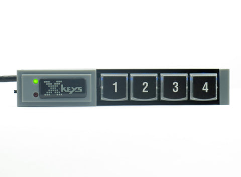 X-keys 4 Key Stick, KVM