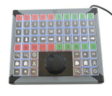X-keys 68 Key Keypad with Jog Shuttle