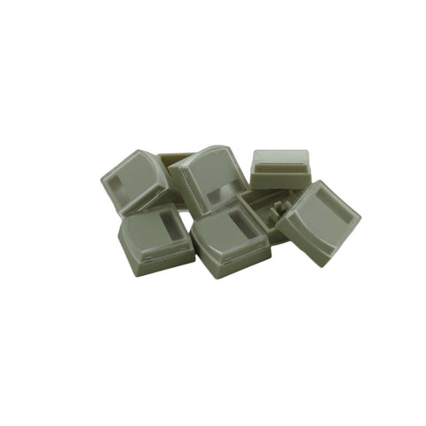 X-Keys XK-A-106-R replacement beige keycaps for X-Keys Stick (set of 8)