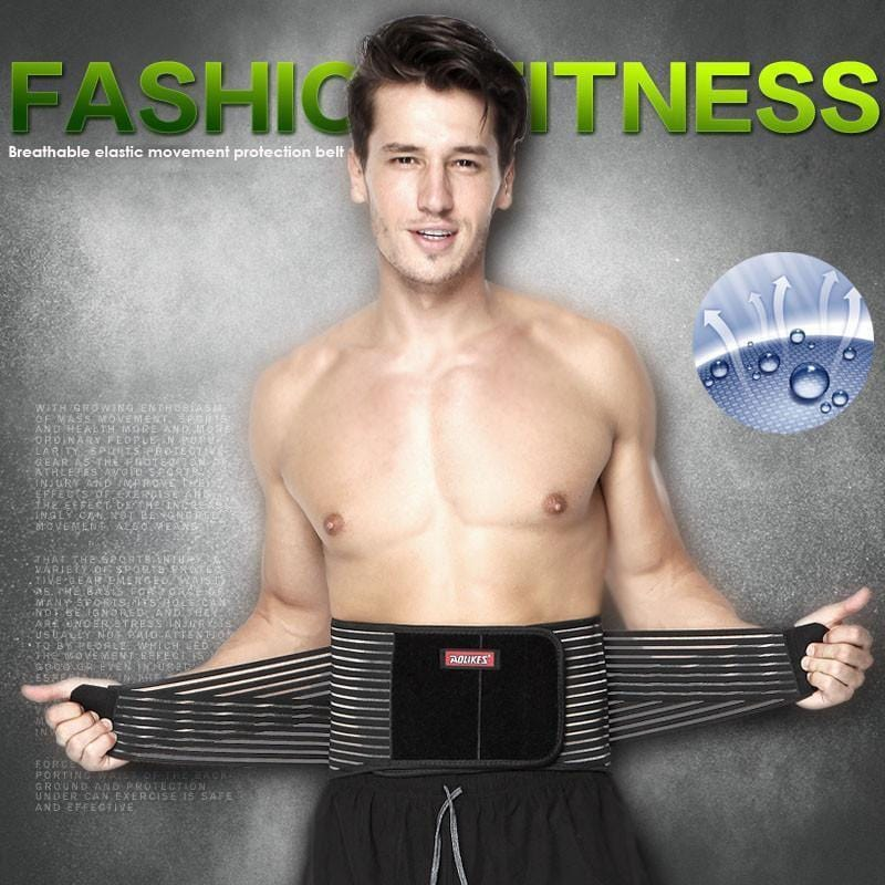 Elastic Waist Support and Trimmer Belt