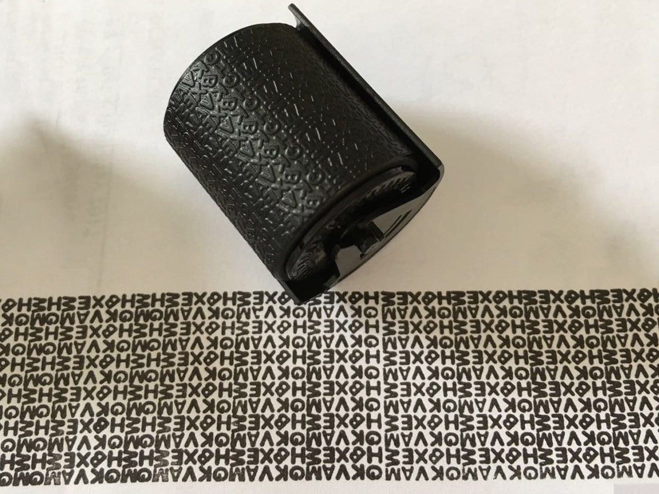 Confidential Roller Stamp - Refill Ink