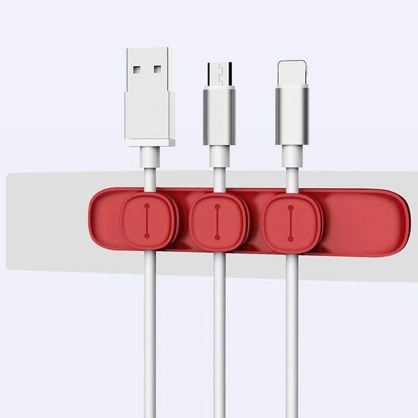 Magnetic USB Cable Organizer