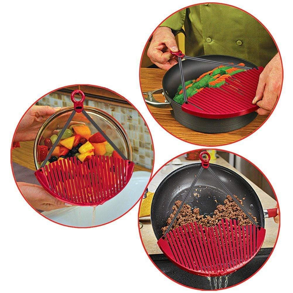 Multi-functional Expandable Strainer