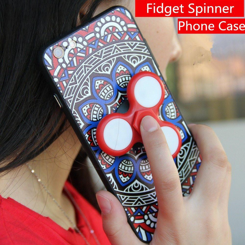 iPhone LED Fidget Spinner Case
