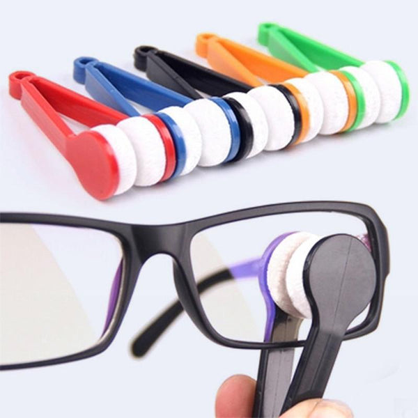 5pcs/set Mini Microfiber Brush for Glasses