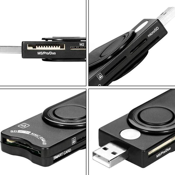 DOD MILITARY USB MEMORY & SMART CARD READER