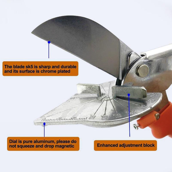 Adjustable Multi-angle Trunking Shears